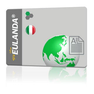 Picture of Correspondence language Italian