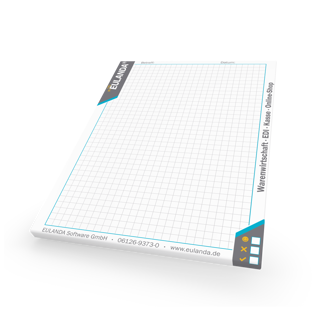 Picture of EULANDA notepads