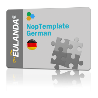 Picture of NopTemplates Language Resources - German