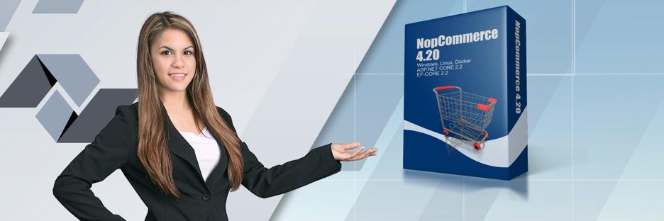 Shopsystem NopCommerce 4.20 ist verfügbar