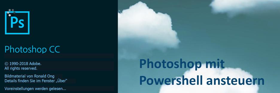 Photoshop API über Powershell-Skript ansteuern