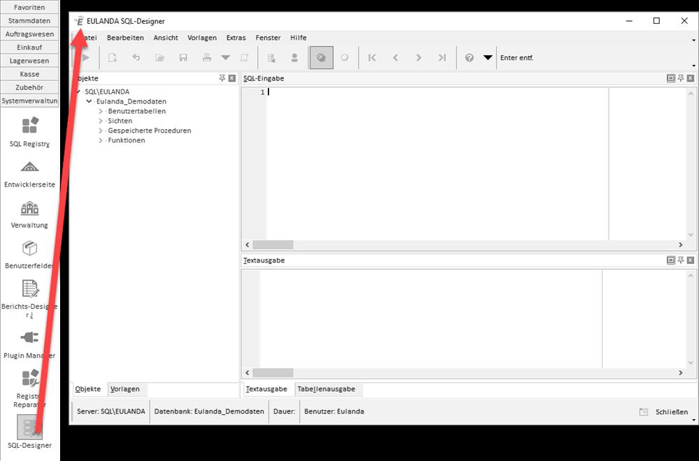 Sql Designer   Eulanda Software Sql Designer